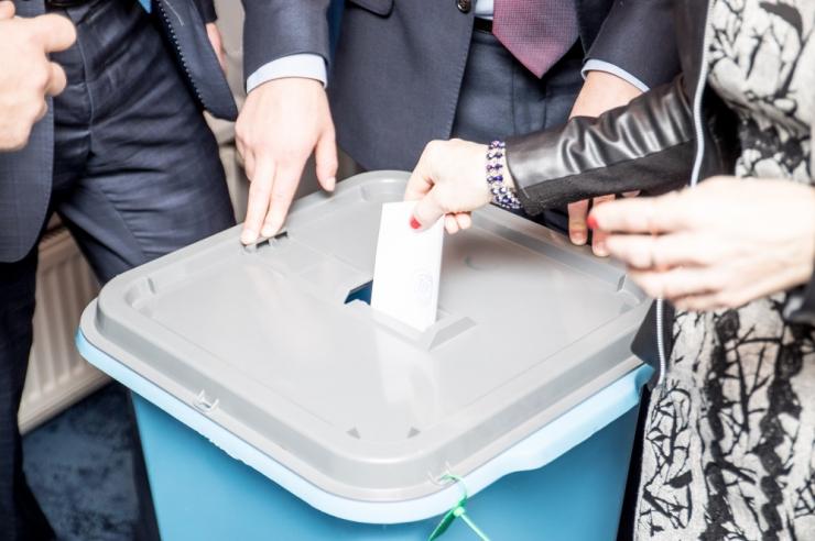 Noored soovivad õigust osaleda riigikogu ja europarlamendi valimistel