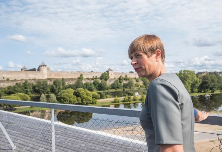 Kaljulaid: Eesti võiks 2030. aastaks lõpetada CO2 õhkupaiskamise
