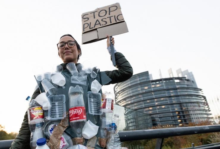 Euroopa Parlament toetas ühekordselt kasutatava plastiku keelustamist