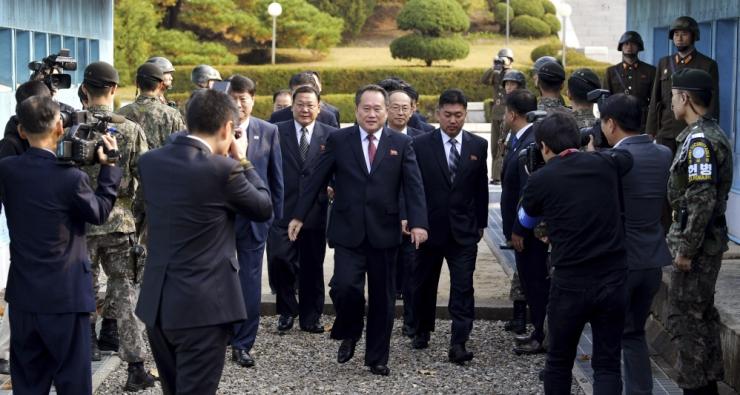 Koread viivad välja relvad külma sõja aegsest rahukülast