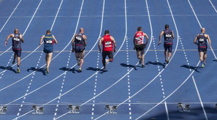 Eesti veteranid said Võitmatute mängudelt kergejõustlikus kolm medalit