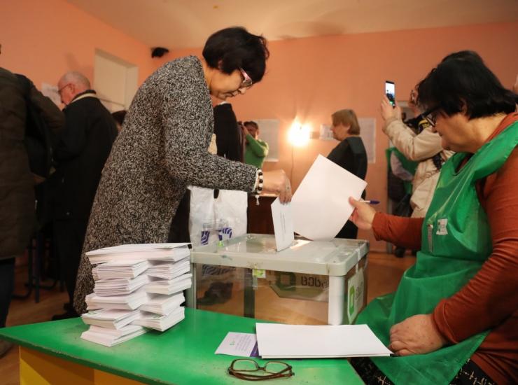 Kaks riigikogu liiget vaatlevad Gruusia presidendivalimisi