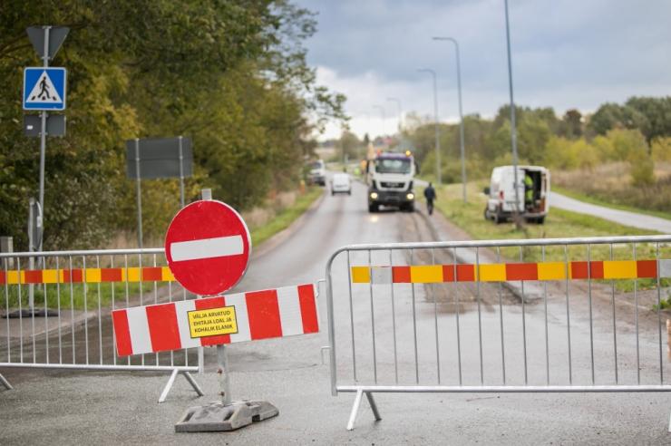Teeremont sulgeb kuni detsembrini Assaku–Jüri maantee alguse
