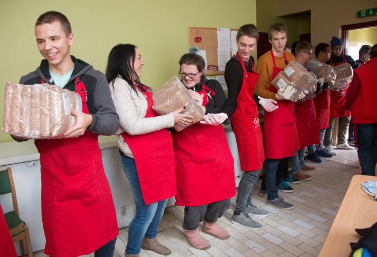 Heategevuslikul õhtusöögil kogutakse raha Eesti Toidupanga toetuseks