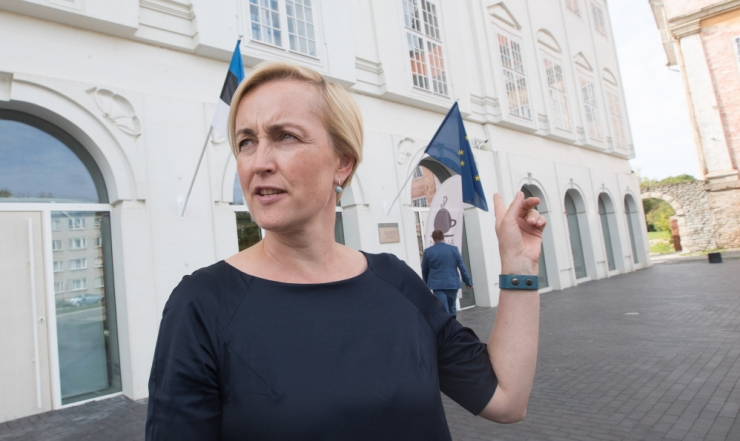 Eesti 200 valis erakonnajuhiks Kristina Kallase