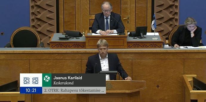Jaanus Karilaid: keegi jättis oma palgatöö tegemata, lubades Eesti Vabariigi muuta kahtlaseks finantsparadiisiks