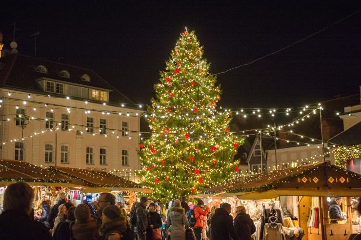 Raekoja platsil avatakse 16. novembril jõuluturg