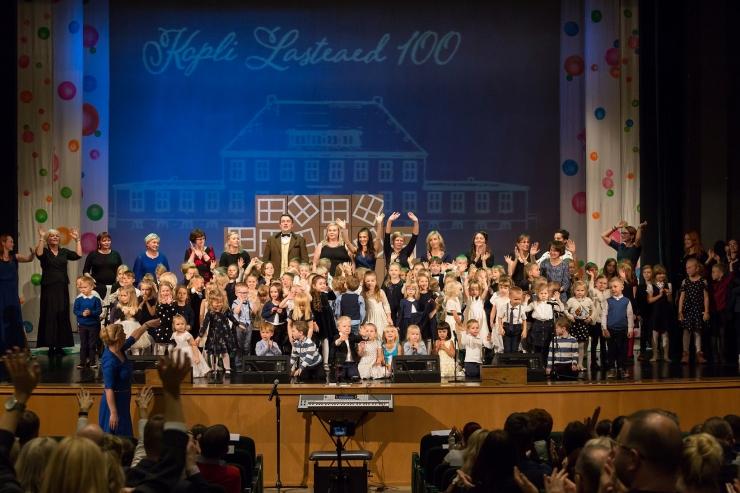Kopli lasteaed tähistas 100. aastapäeva