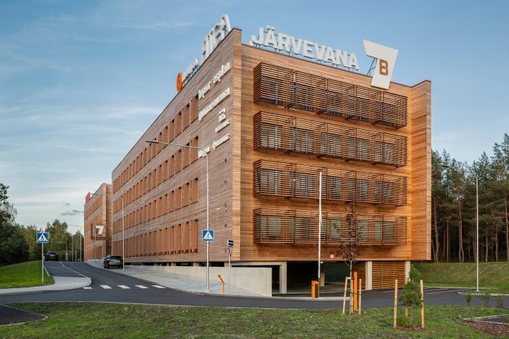 FOTOD: Vaata, kui eriline näeb välja värskelt valminud Eesti suurim rohebüroohoone
