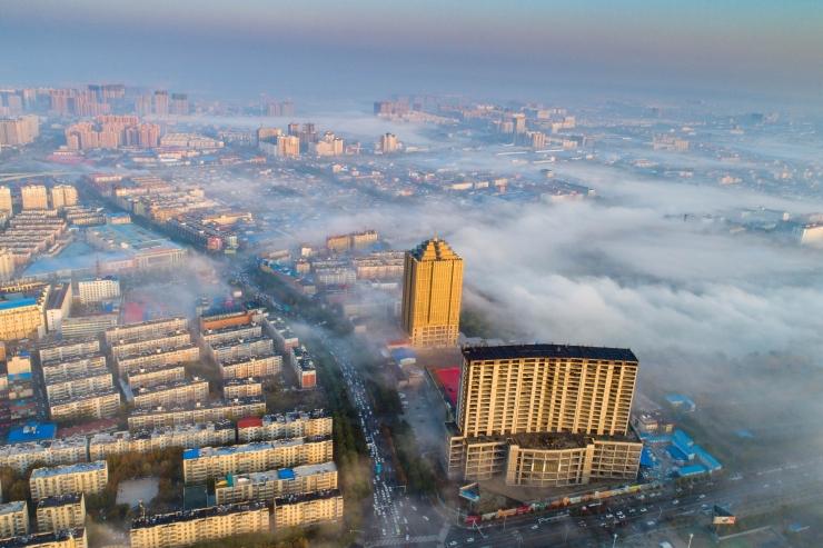 Ida-Hiinas haigestus keemialekke tagajärjel 52 inimest