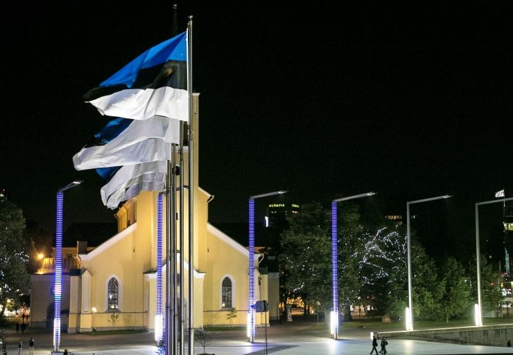 Pühapäeval heisatakse Eesti lipud