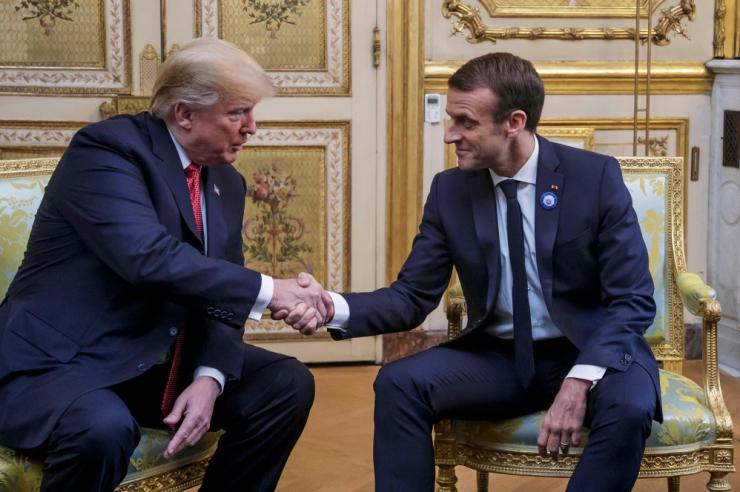 Trump: Macroni EL-i sõjaväe ettepanek on solvav