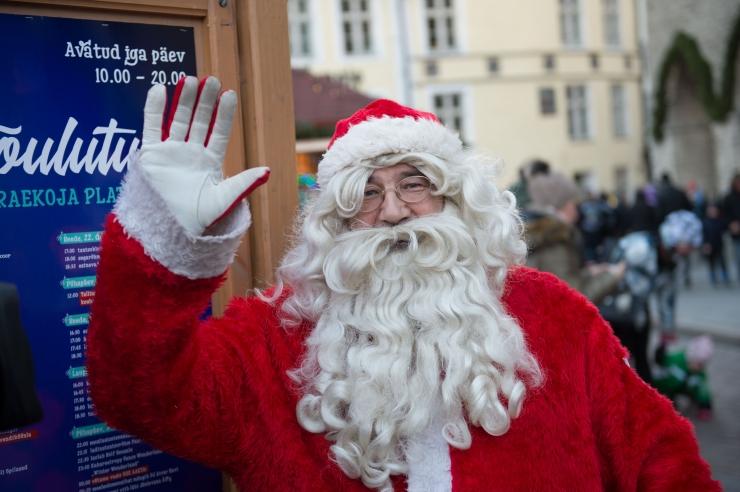 Tallinnas avatakse reedel jõuluturg