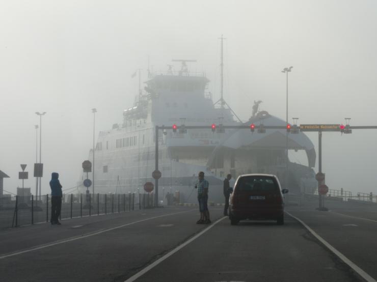 Kehv ilm seiskas täna laevaliikluse Prangli liinil