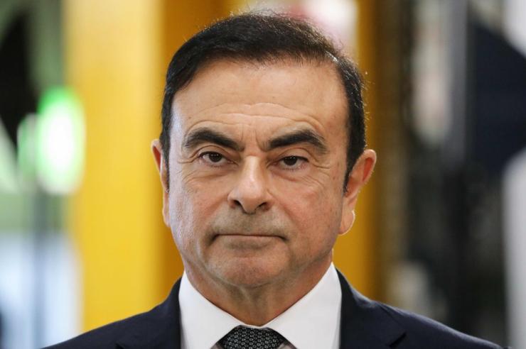 Nissani esimees Ghosn vahistati