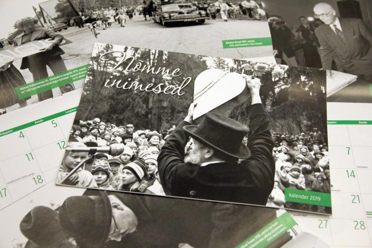 Nõmme linnaosa andis välja arhiivifotodega kalendri