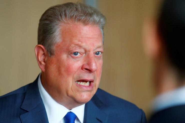 OTSEÜLEKANNE! Al Gore: inimkond saastab atmosfääri, nagu see oleks avalik kanalisatsioon