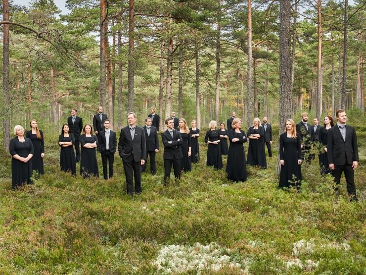 Eesti Filharmoonia Kammerkoor avab Tallinna Lennujaamas Eesti muusika kuulamise nurga