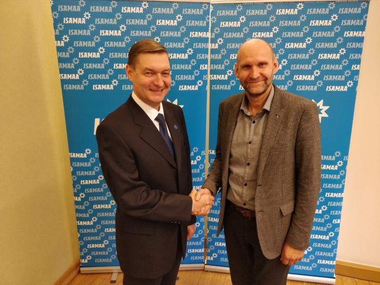 Raivo E. Tamm kandideerib valimistel Isamaa nimekirjas