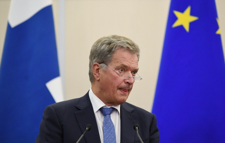 Soomlased on rahul president Niinistö välispoliitikaga