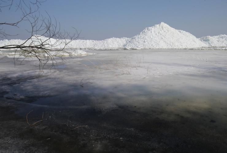 Peipsile tekkiv jää võib seisata laevaühenduse Piirissaarega