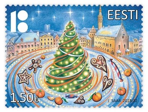 Jõulukaardi saab taas teele panna lõhnava margiga
