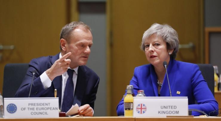 Tusk: ELi 27 liikmesriigi juhid kiitsid Brexiti leppe tingimused heaks