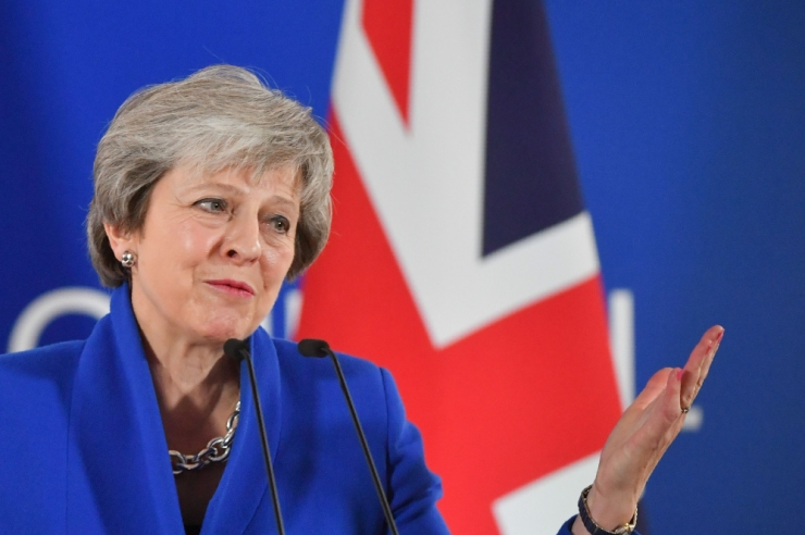 May: sõlmitud Brexiti-lepe on ainus võimalik lepe