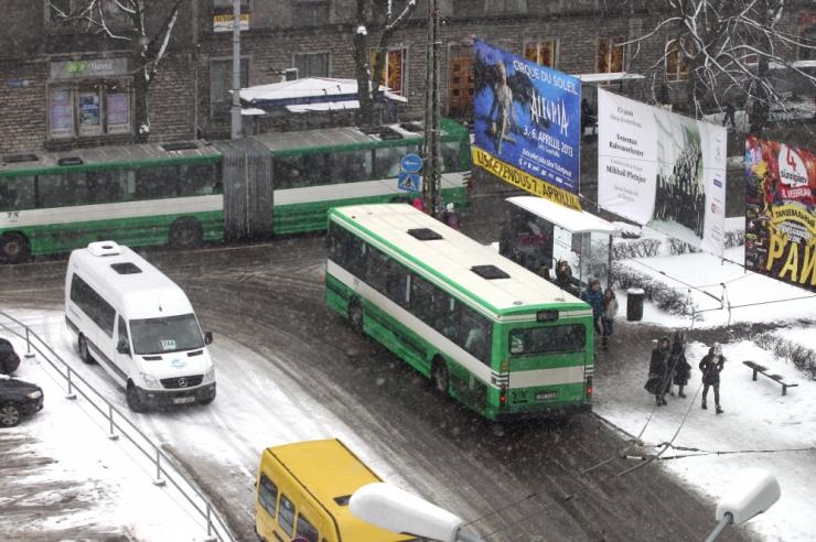 Alates detsembrist toimuvad muudatused Tallinna bussiliinidel