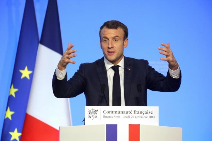 Macron: kui Brasiilia kliimaleppest lahkub, EL-Mercosur lepet ei tule