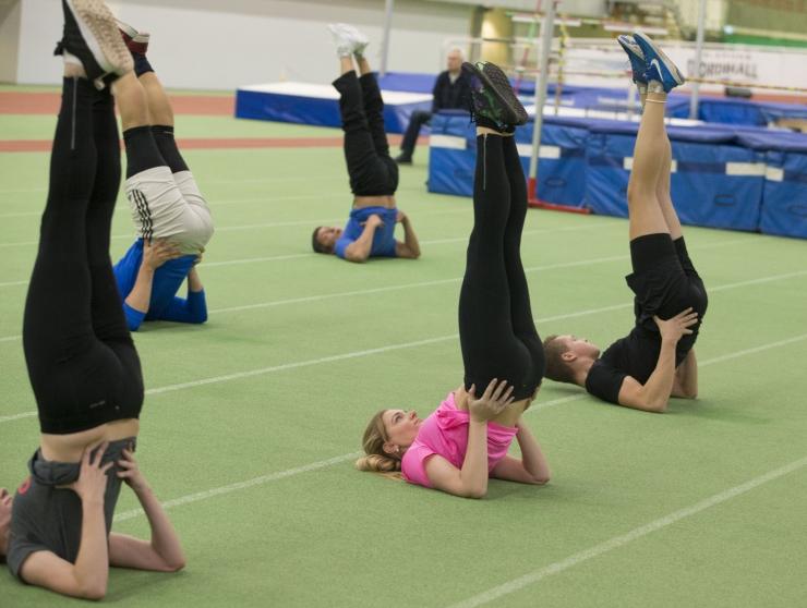 FOTOD JA VIDEO: Tallinlaste päev algas eriti sportlikult!