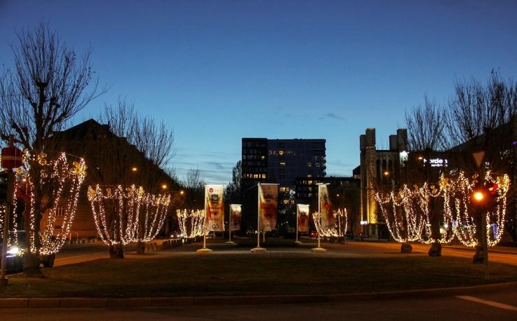 Tallinna südalinnas avatakse jõuluallee