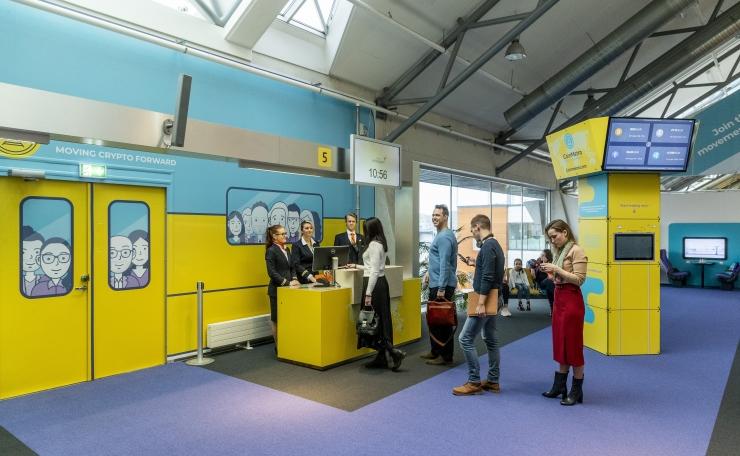 FOTOD: Tallinna lennujaam avas külastajatele krüptovärava