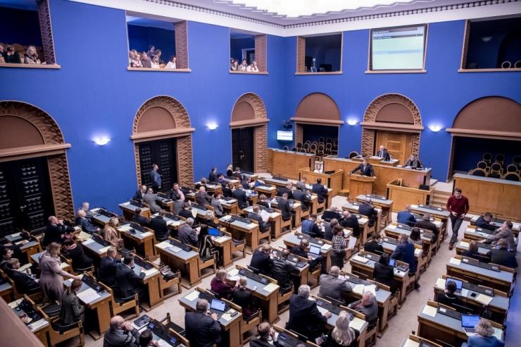 Riigikogu kiitis heaks keskkonnatasude laekumise ministeeriumile