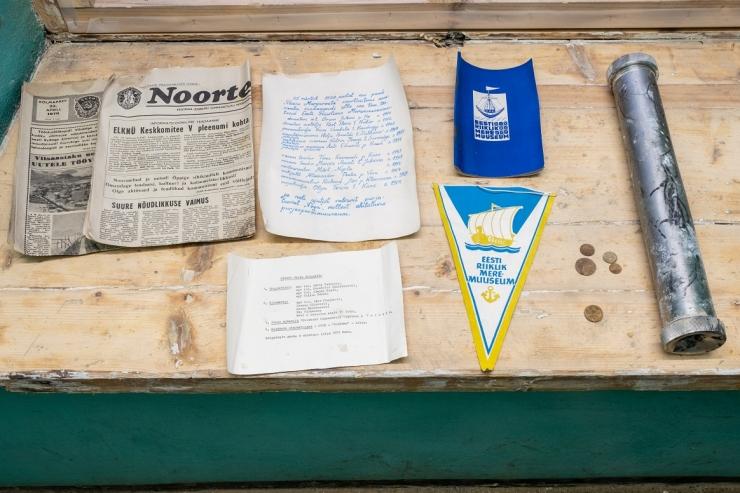 FOTOD! Paksust Margareetast leiti 39 aasta vanune ajakapsel