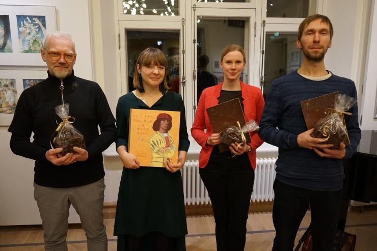 """Aasta Rosina auhinna pälvis Anti Saare ja Urmas Viigi raamat """"Mina, Milda ja meister Michel"""""""