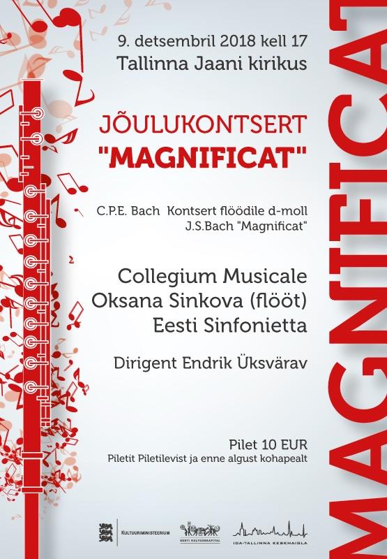 """Jõulukontsert """"Magnificat"""" viib kuulajad sajanditetagusesse barokisärasse"""