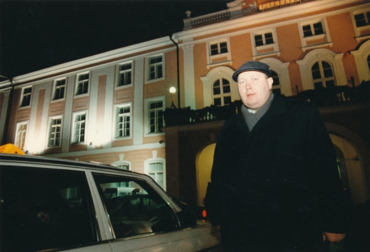 SDE-st lahkunud Vootele Hansen kandideerib Isamaa ridades riigikokku