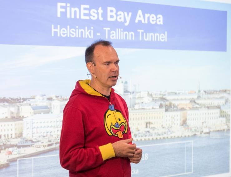 Vesterbacka: Tallinn-Helsingi tunneli valmimine 2024. aastaks on kindlasti realistlik