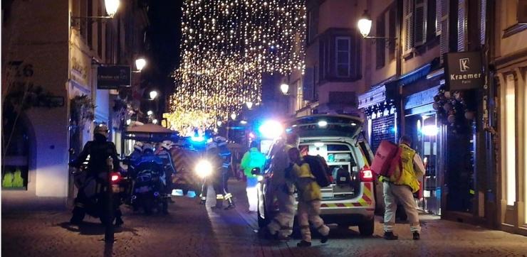Strasbourgi rünnakus sai surma kaks ja haavata 14 inimest