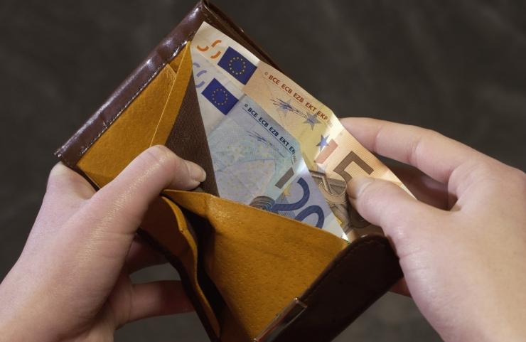 Valitsus kinnitas miinimumpalgaks 540 eurot
