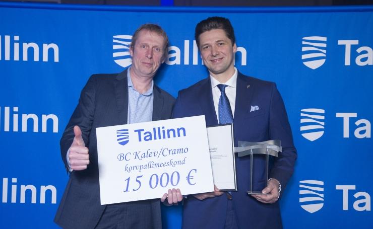 VIDEO! Tallinna aasta sportlased on Anett Kontaveit ja Erik Aaslav-Kaasik