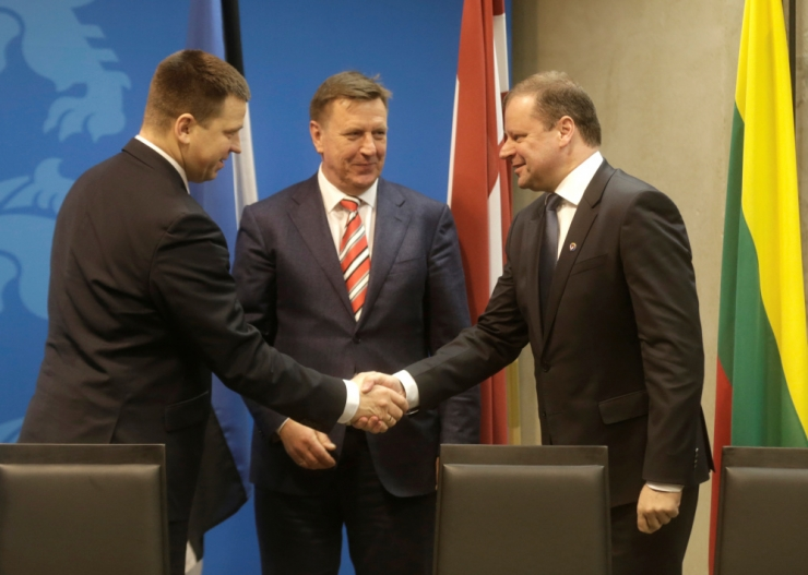 Balti peaministrid arutavad Rail Balticut ja muid projekte