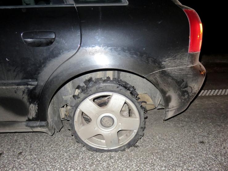 Politsei kasutas kütusevarga auto peatamiseks relva