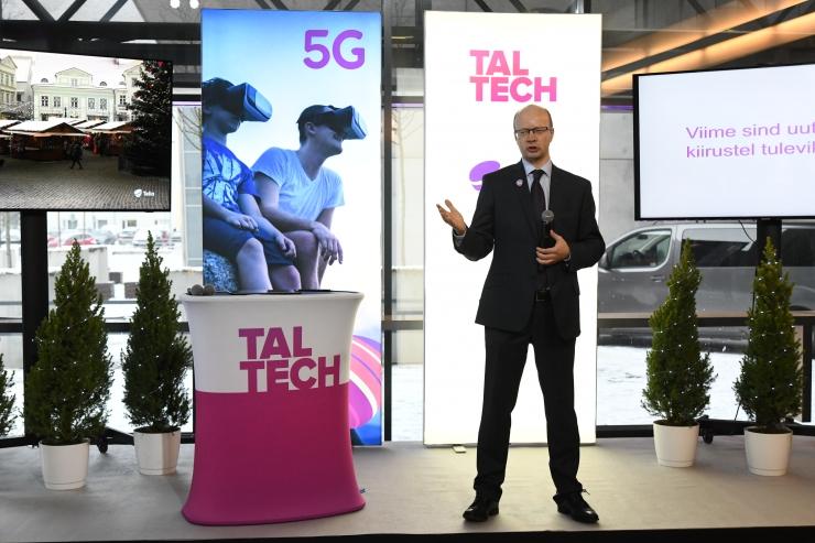 Tallinnas avati täna esimene 5G võrk