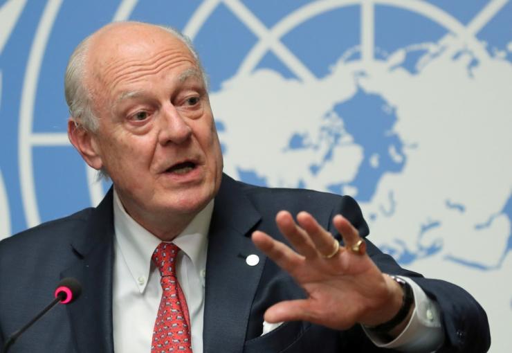 De Mistura: Süüria põhiseaduskomisjoni ei suudeta sel aastal luua