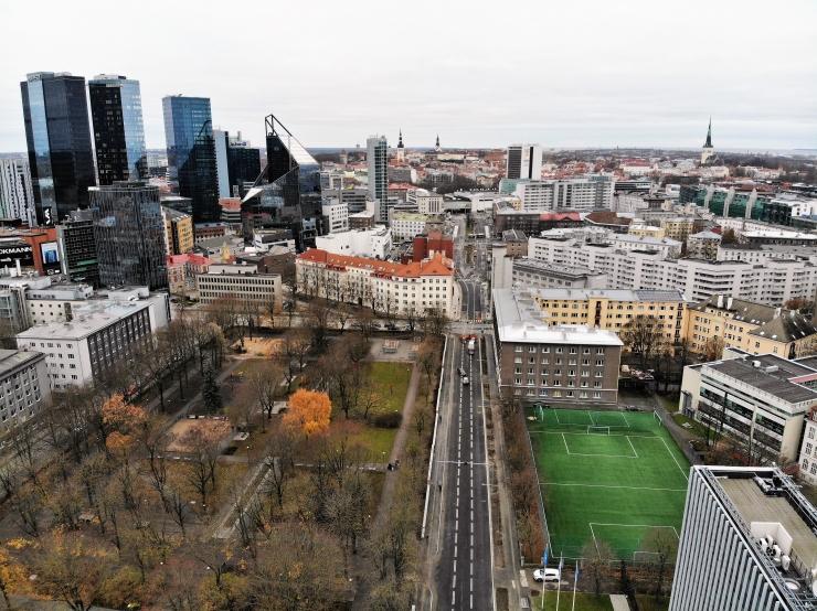 Tallinna kesklinnas lõppesid ulatuslikud teetööd