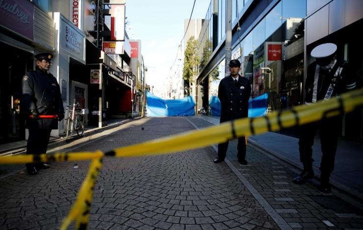 Tokyos rammis kaubik jalakäijaid, üheksa inimest sai kannatada