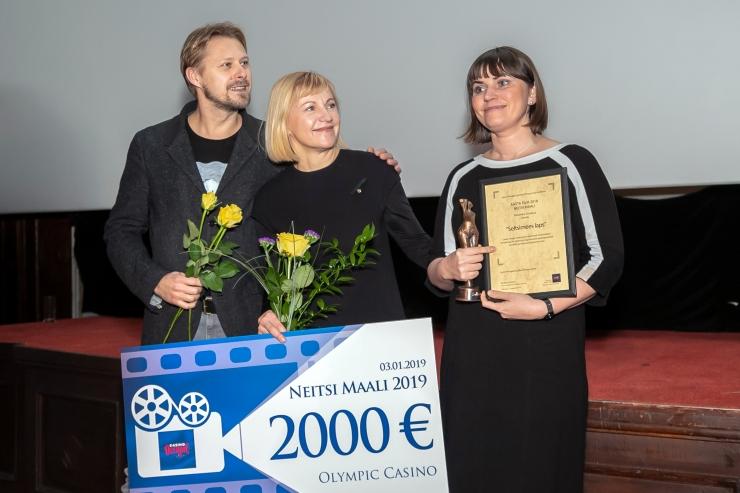 """FOTOD JA VIDEO! Filmiajakirjanike aastaauhinna Neitsi Maali võitis """"Seltsimees laps"""""""