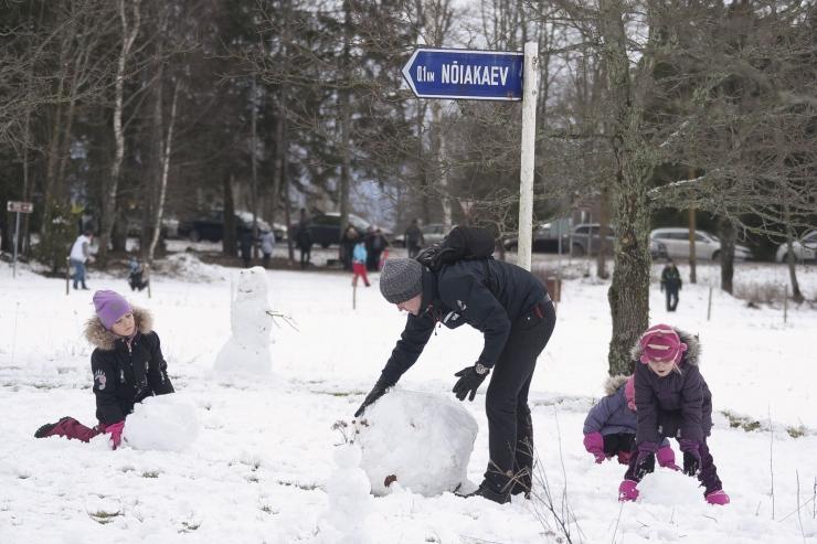 Eeloleva nädala esimene pool jätkub talvise kaamosega